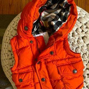 Infant burberry coat/vest